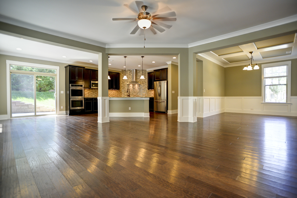 Accent homes carolinas affordable new homes in charlotte for New floor design ideas