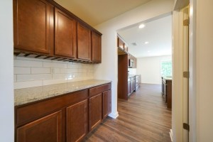 Butler Pantry with Wine Rack and Granite (1)