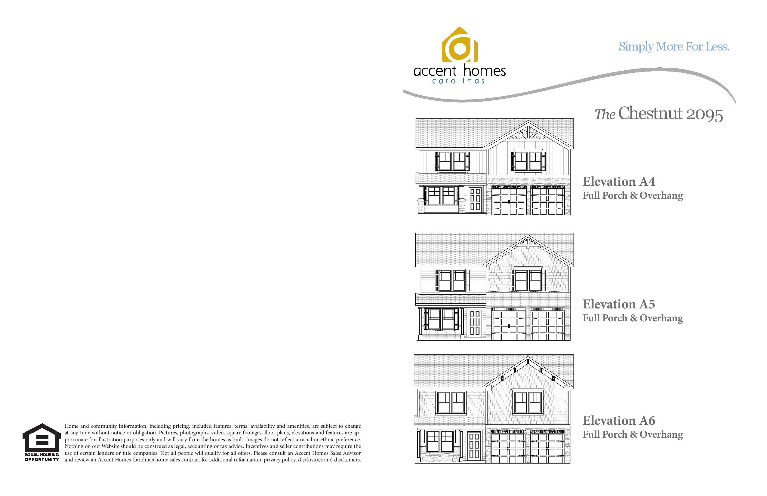 Chestnut 2095 Accent Homes Carolinas – Accent Homes Floor Plans