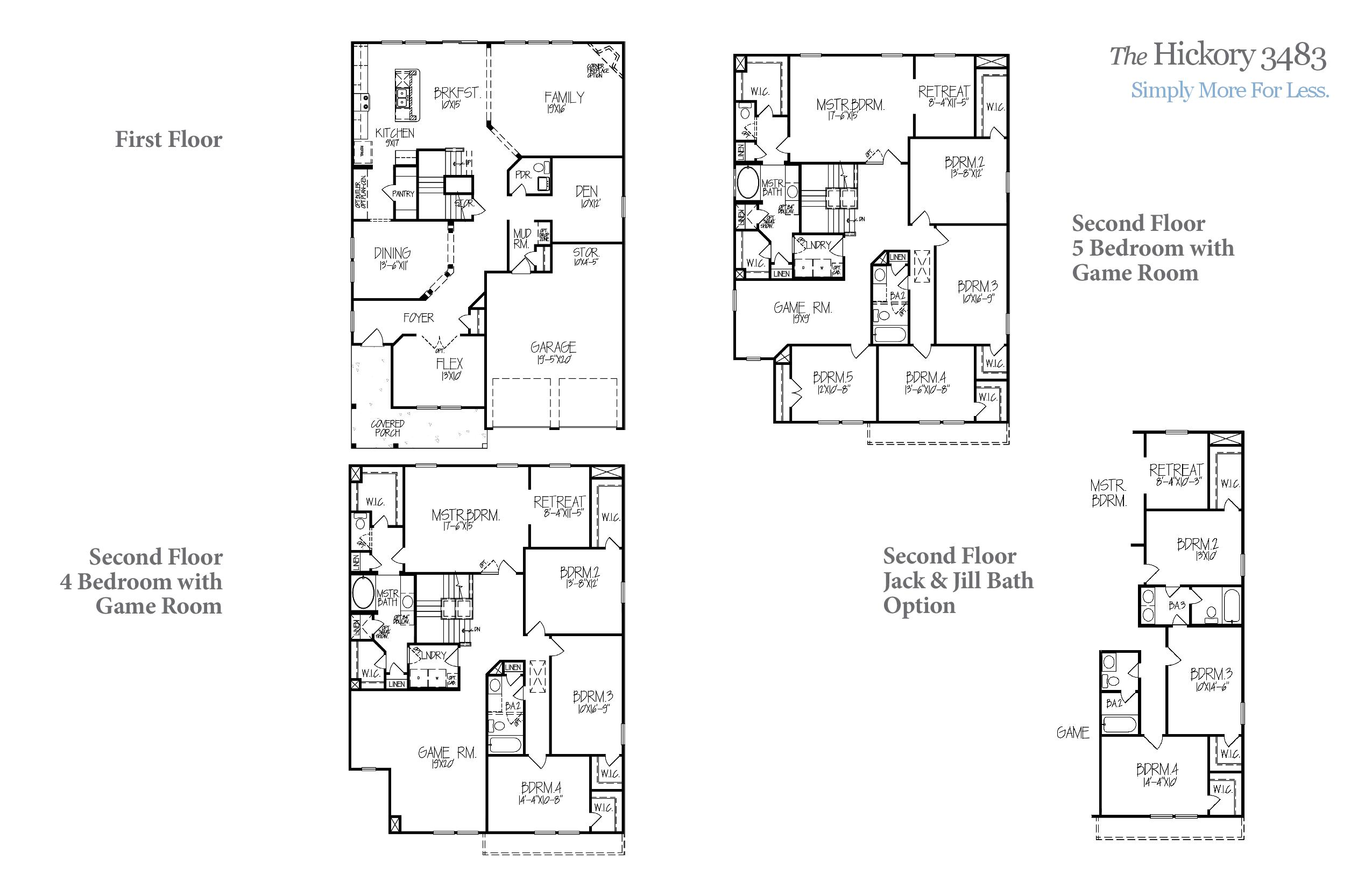 Hickory 3483 Accent Homes Carolinas – Accent Homes Floor Plans