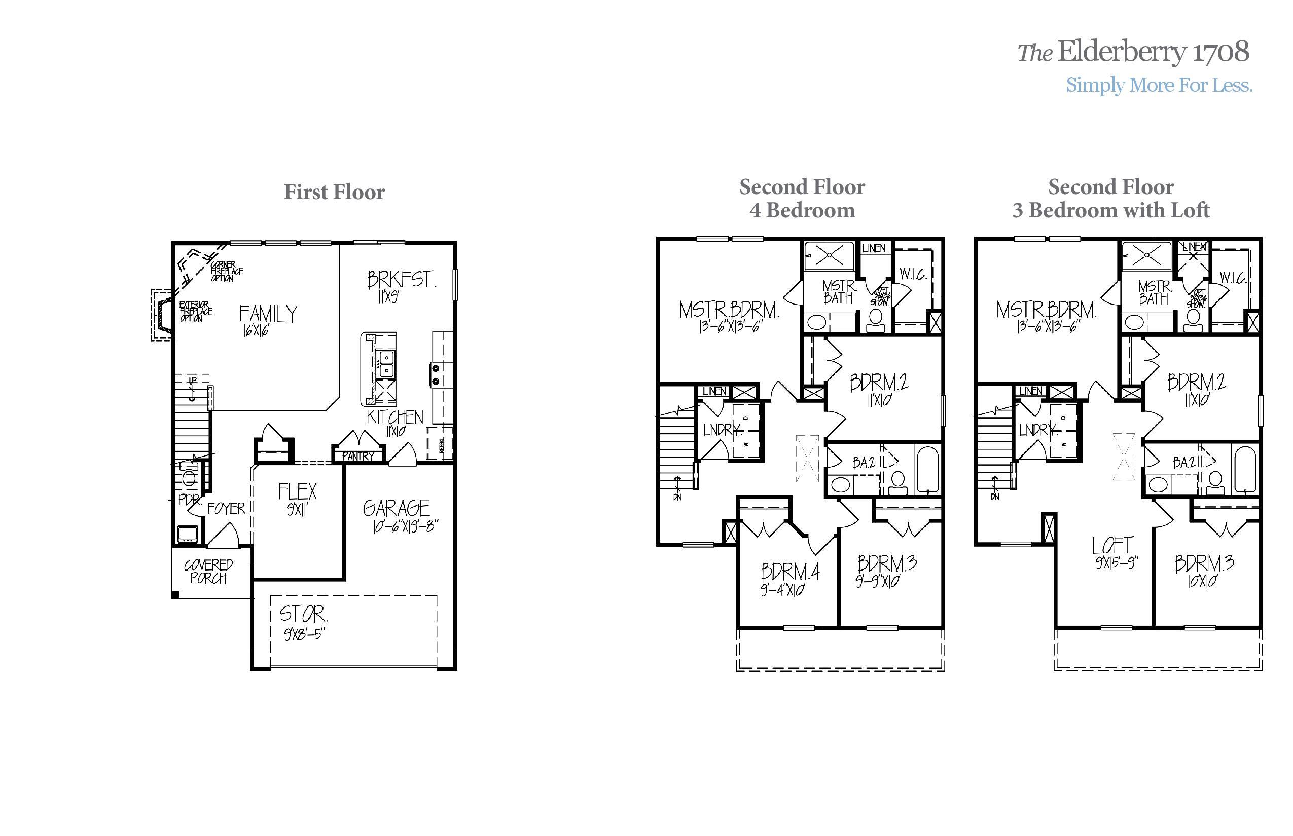 Elderberry 1708 Accent Homes Carolinas – Accent Homes Floor Plans