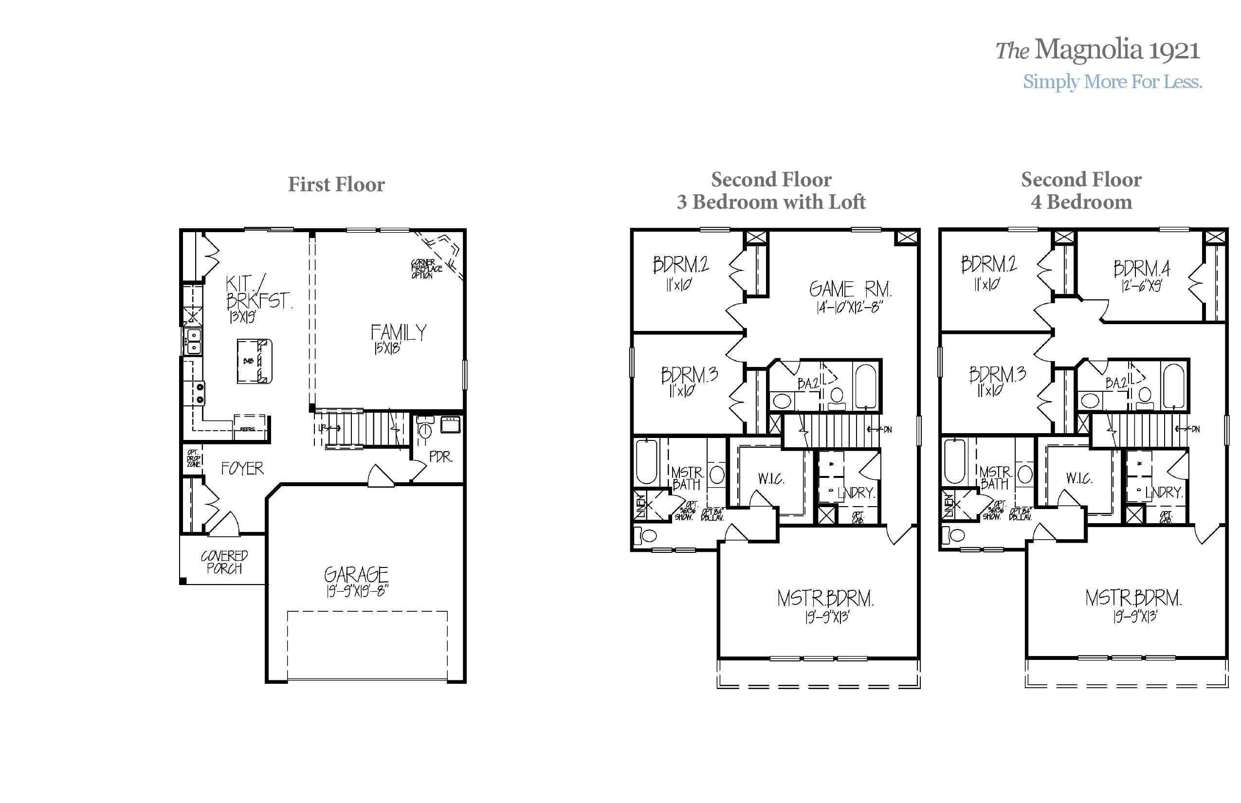 Magnolia 1921 Accent Homes Carolinas – Accent Homes Floor Plans